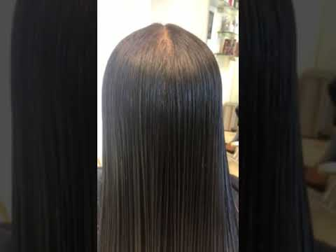 Japanese Hair Straightening By Alain Lpez Youtube