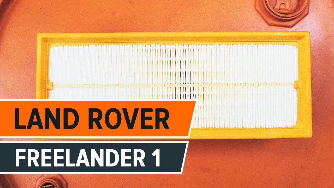Cambio Filtro Aria Land Rover Freelander 1 Tutorial