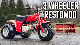 Honda ATC 70 Restoration | Restored 140cc 3 Wheeler!