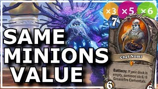 Hearthstone - Best of Same Minions Value