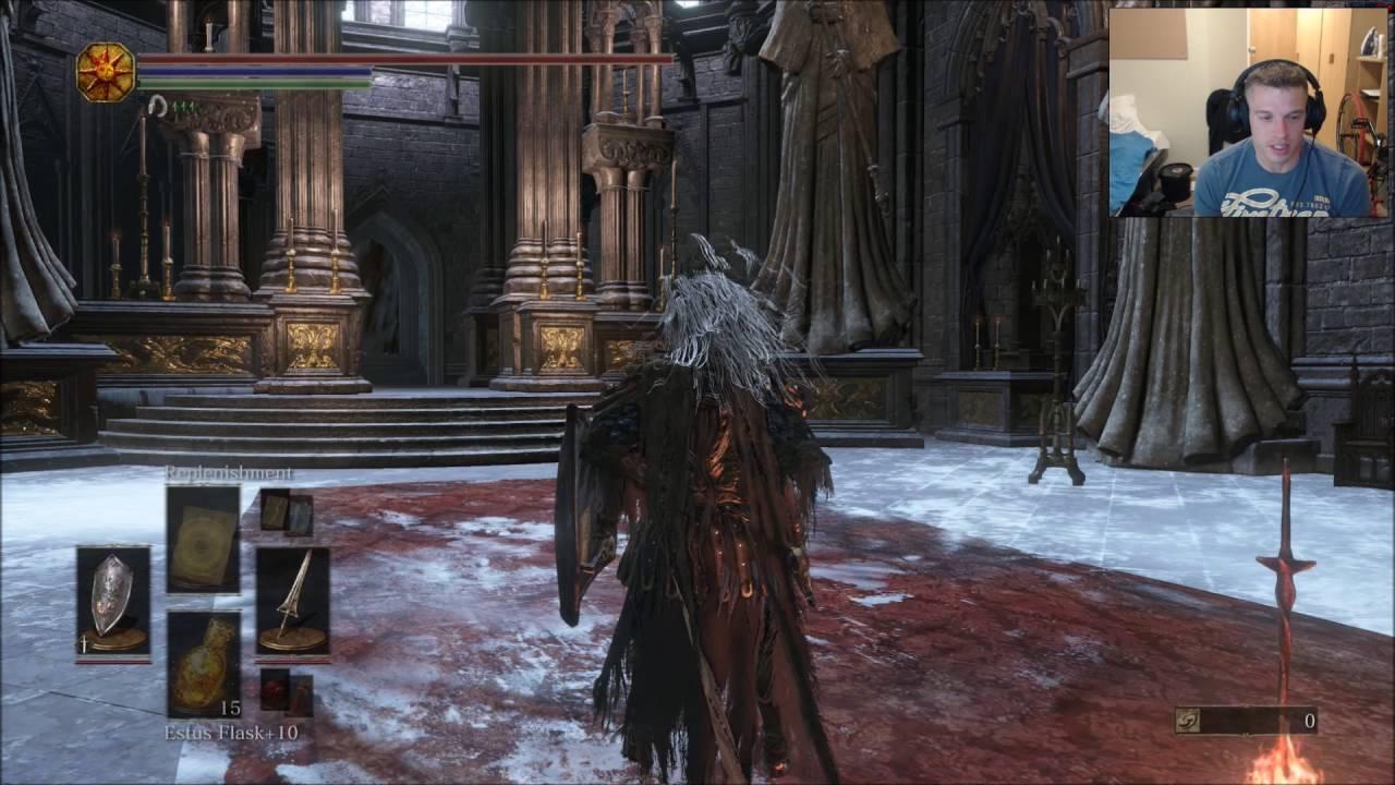 Dark Souls 3 Dragonslayer Swordspear BUILD SL 142