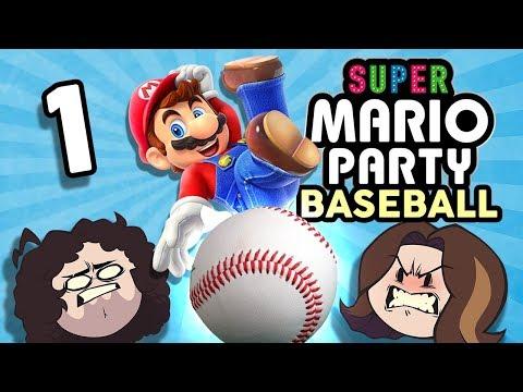 Super Mario Party Baseball: Feeling Foul - PART 1 - Game Grumps VS