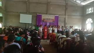 Wangala. Dance performed by Group 4.   A. B Krima no.xiii womens conference.