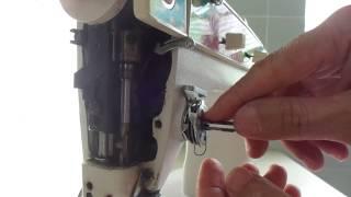 Como consertar trocar o tensor da Singer facilita desmontar montar e regular o ponto thumbnail