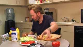 Conan's Ultimate Sandwich Recipe: Conan Takes Your Questions - Episode 2!