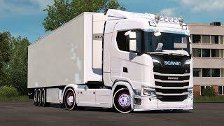 ETS 2: Scania S 500 1 35 x v update 1 35 Scania Mod für Eurotruck
