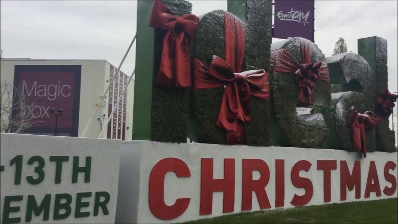 Ideal Home Show At Christmas Event City Manchester 13th November 2016    YouTube
