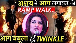 OMG: Akshay Kumar Set Himself On Fire Wife Twinkle Khanna Gets Angry!