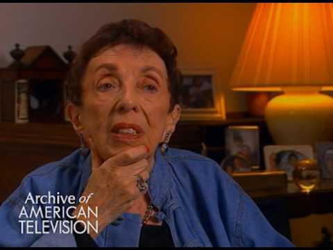 "Ethel Winant on Paul Muni on ""Playhouse 90"""