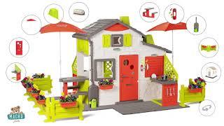 Házikó Jóbarátok konyhával tágas Neo Friends House