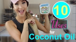 10 Uses for Coconut Oil ⎮My Beauty Uses