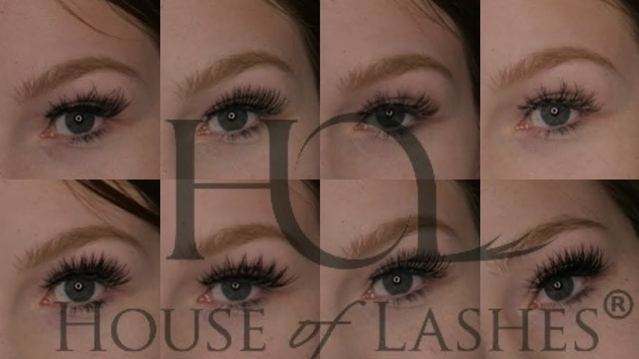 33c18523be5 House of Lashes Try On Haul (Beginners Perspective 😅) - YouTube