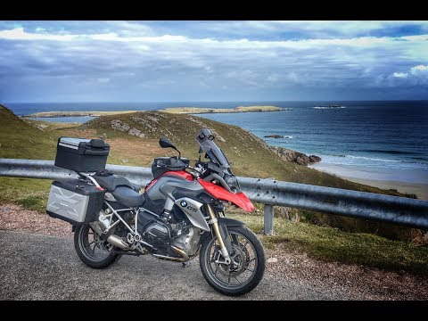 Scotland by BMW R1200GS Part 5 - Thurso to Glenlivet on the North Coast 500