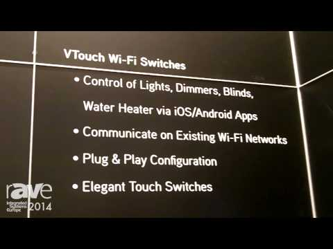 ISE 2014: Vitrea Presents New VTouch WiFi Switch