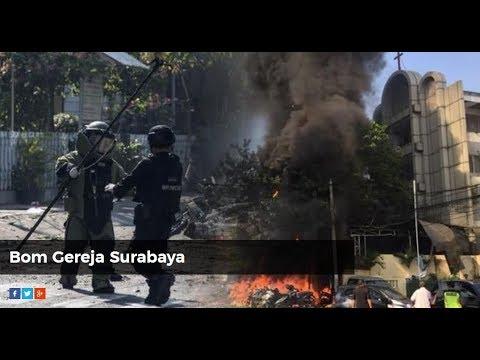 Breaking News! Ledakan Bom di Surabaya