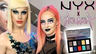 NYX x AQUARIA | GRWM Makeup, Coiffure & Tenue + Vlog