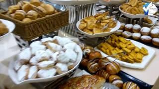 بوفيه افطار فندق الصفوة رويال دار الايمان بمكة المكرمة