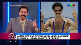 Especial Parecidos: Martín mondino es Borat - Peligro Sin Codificar 2017