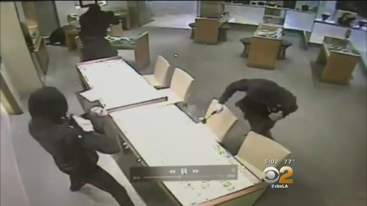 Police Search For Armed Robbery Suspects In Connection With Smash