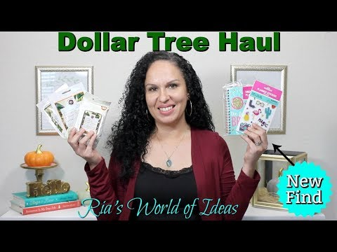Dollar Tree Haul | New Find | Planner Items