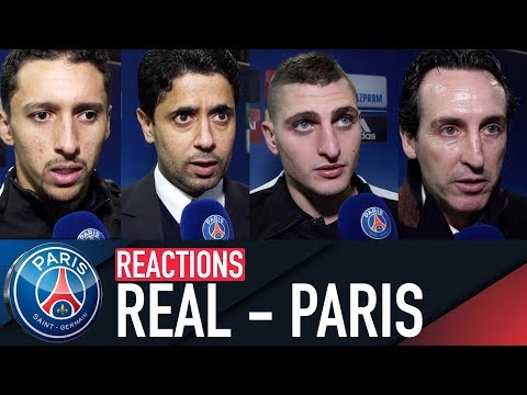 REACTIONS : REAL MADRID 3 - 1 PARIS SAINT-GERMAIN