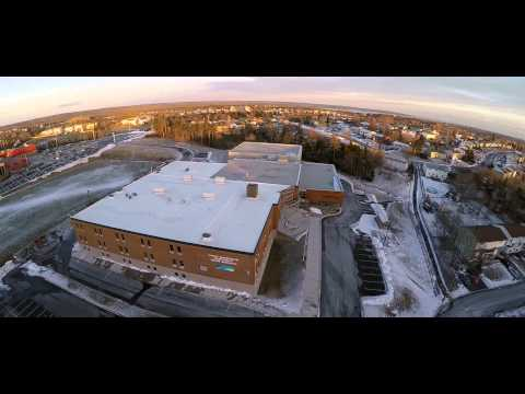 Cole Harbour District High School Aerial Sample