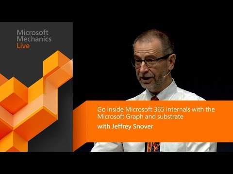 Microsoft 365 internals explained | Microsoft Graph, substrate, and PowerShell with Jeffrey Snover thumbnail