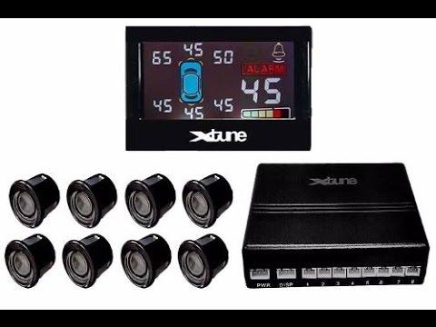 44d454bca Sensor Xtune de Estacionamento (ré) de oito pontos. - YouTube