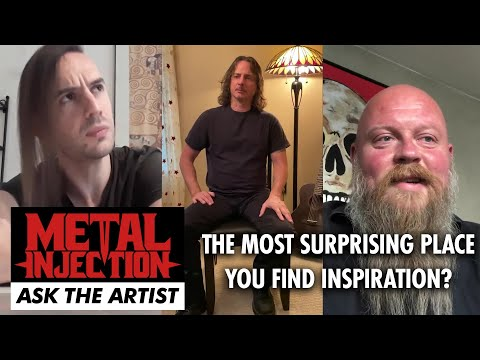 Most Surprising Place You Find Inspiration? Ask The Artist  | Metal Injection