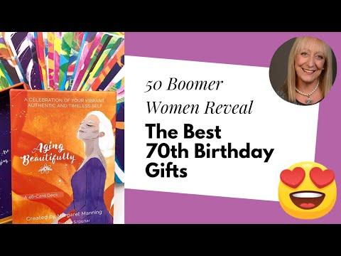 70th Birthday Gifts