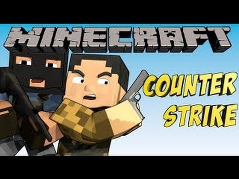 Counter Strike в Minecraft: Мини Игры