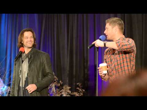 J2 taking calls on Dean's phone | sfcon 2015
