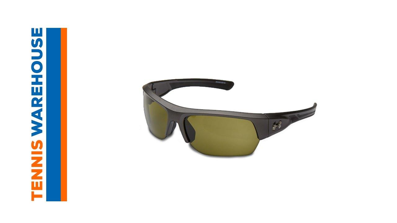 40a3bfae45c Under Armour Big Shot Sunglasses - YouTube