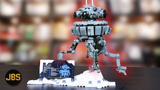 LEGO Star Wars Imperial Probe Droid Review & Speed Build! Set 75306 Spring 2021!