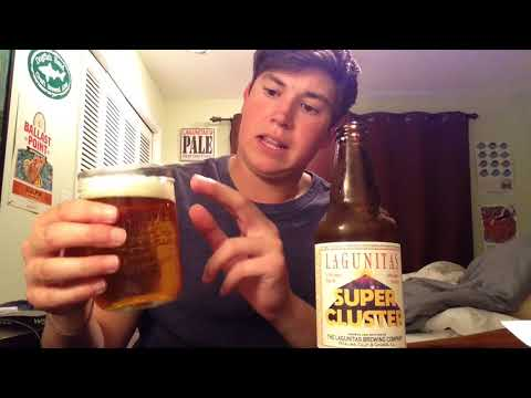 Lagunitas - Super Cluster IPA Review (2018 LIMITED RELEASE)