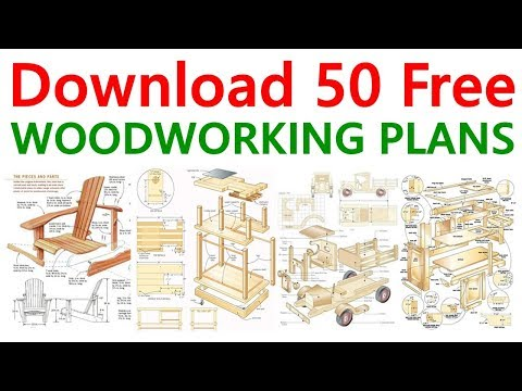 Download 50 Free Woodworking Plans & DIY Projects