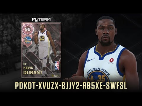 83633f27f7f2 PINK DIAMOND KEVIN DURANT LOCKER CODE CAMPING NBA 2K18 MYTEAM - YouTube