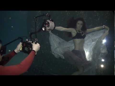 Lingerie Fashion Underwater