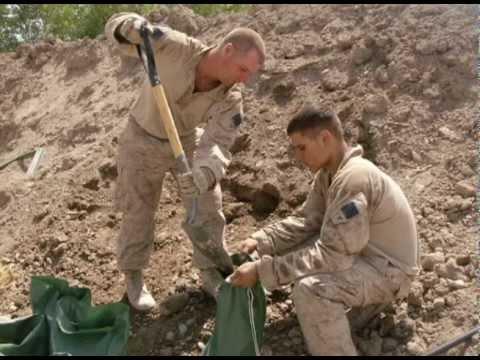 1/5 Bravo Marines in the human chop shop-Afghanistan 2009