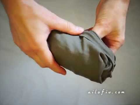 How to fold a T-shirt (Army's style)