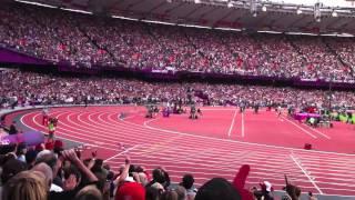 London 2012 - Men's 5000m Final - Last Lap - Mo Farah Wins Gold
