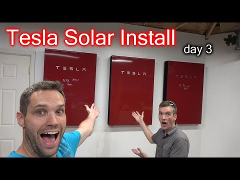 3 Founders Powerwalls, 51 Solar Panels, 3 Signature Wall