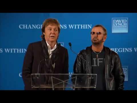 Change Begins Within - Transcendental Meditation   Lynch, McCartney, Hagelin