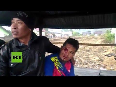 Destrucción en Indonesia tras el terremoto de magnitud 6,4