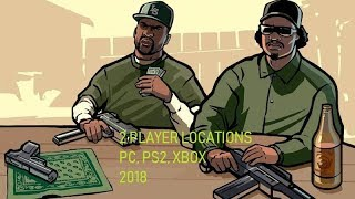 All 2 player locations in GTA San Andreas(2018)(PS2, PC, XBOX)