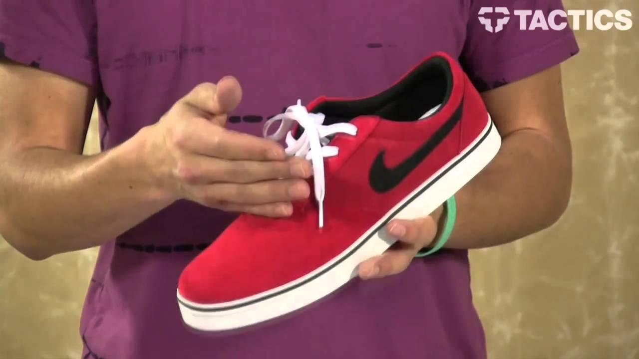 5e9b755d1e Nike SB P. Rod V Rod Skate Shoes Review - Tactics.com - YouTube