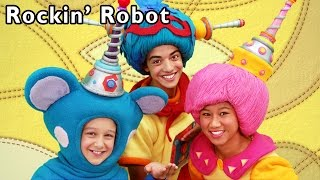 Repeat youtube video Robot Dance Party | Rockin' Robot and More | Baby Songs from Mother Goose Club!