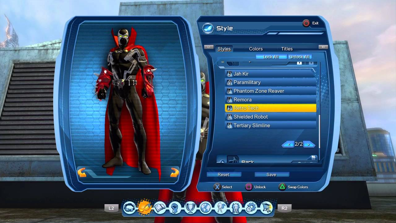 Dcuo Hell Spawn Style Youtube