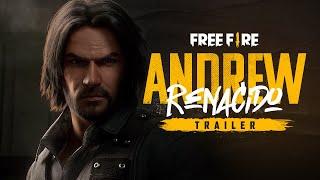 ANDREW RENACIDO 🔥 | Tráiler -  Animación | Garena Free Fire