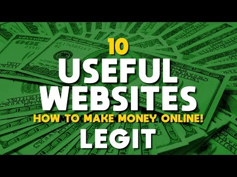 10 Useful Websites To Make Money Online! (Legit)